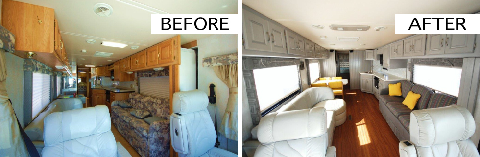 Fantastic Homestead Mama Before Amp After RV Remodel