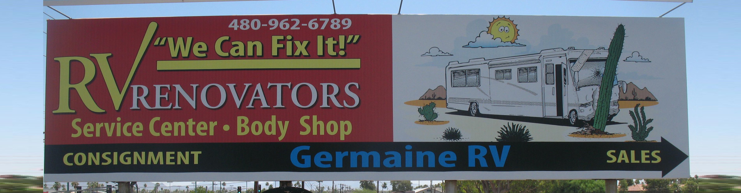 RV Renovators Billboard